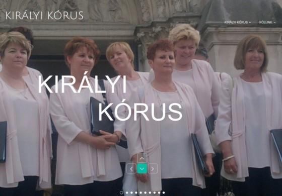 Új királyi weboldal